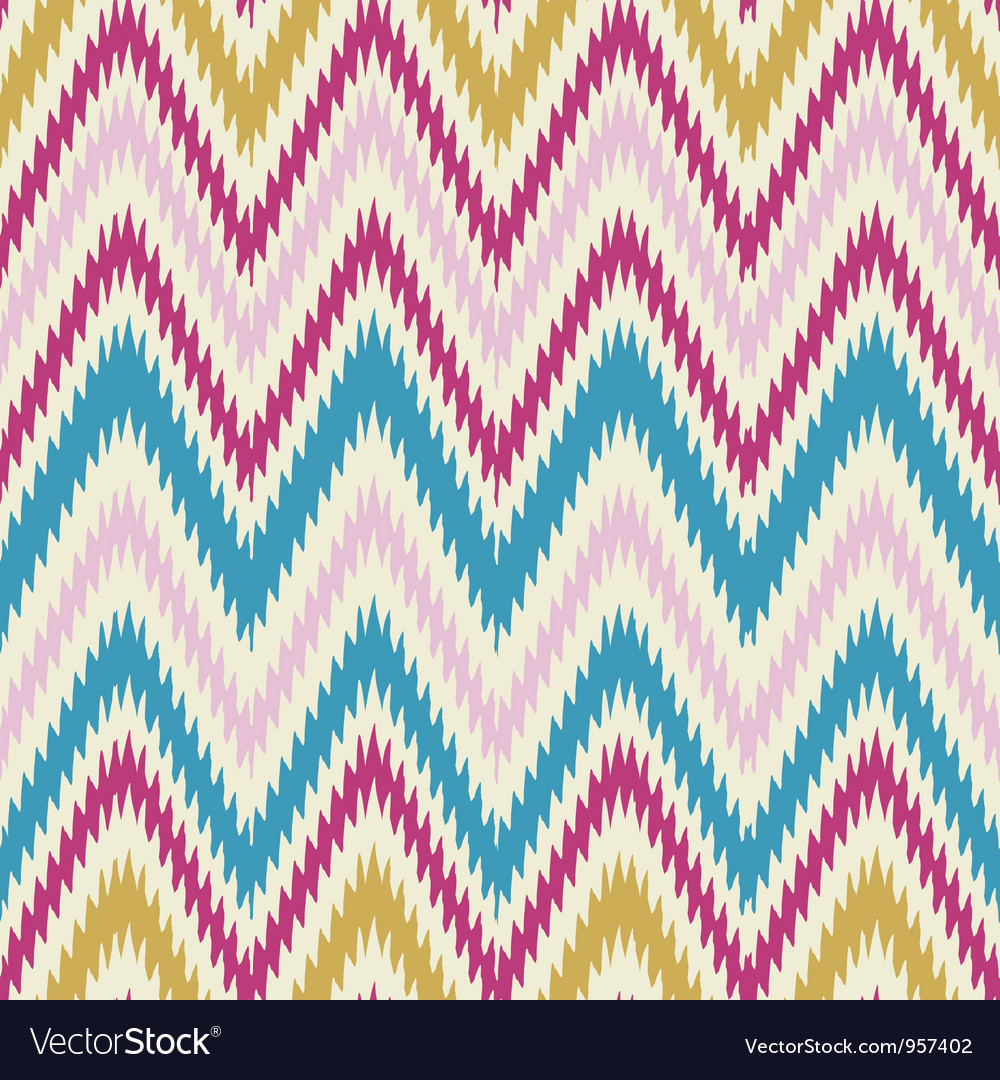 Trendy zig zag vector | Price: 1 Credit (USD $1)