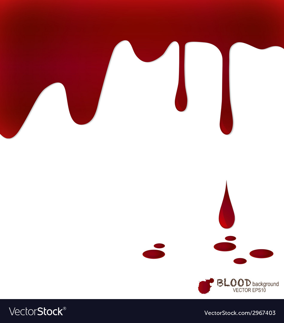 Blood dripping blood background vector | Price: 1 Credit (USD $1)