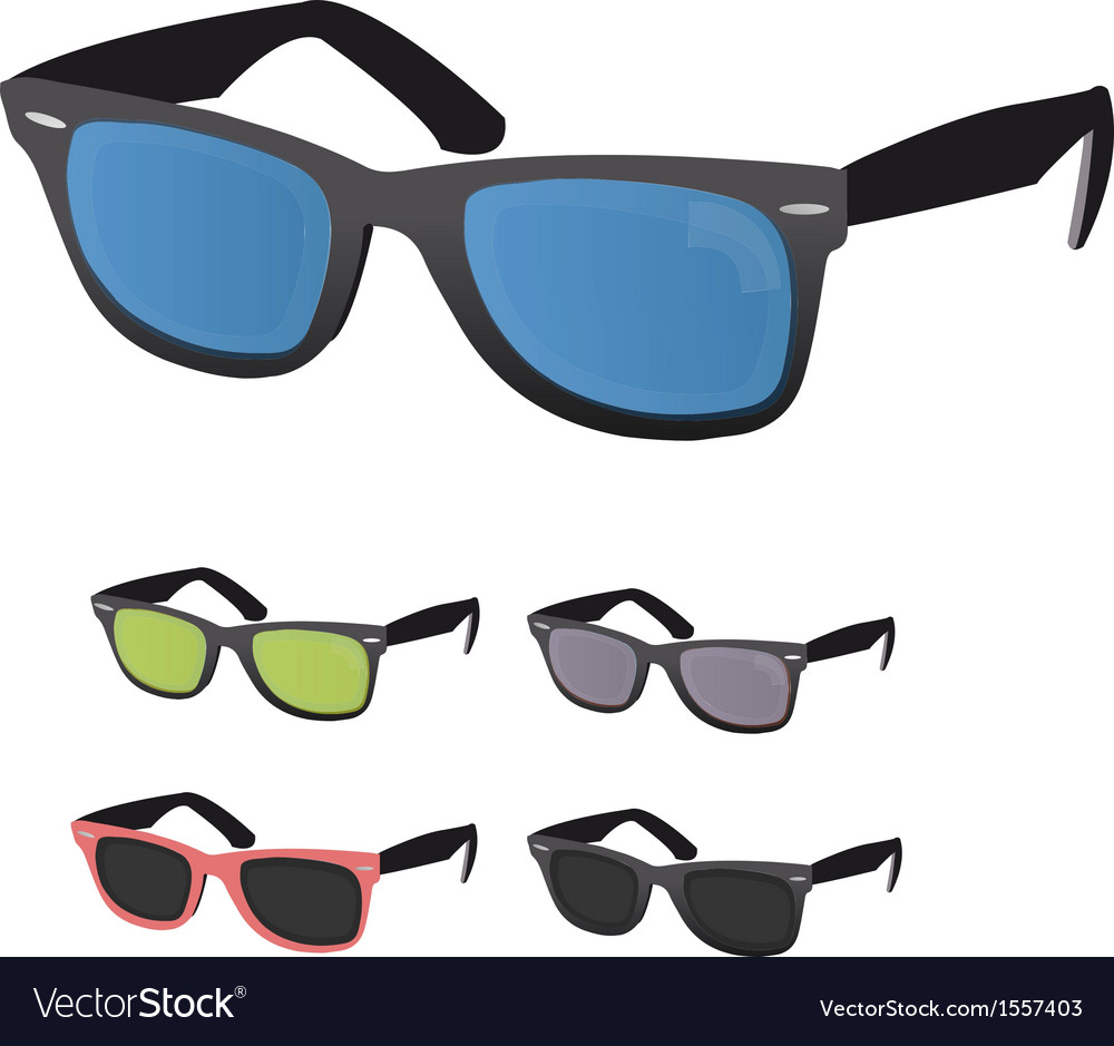 Sun glasses vector | Price: 1 Credit (USD $1)