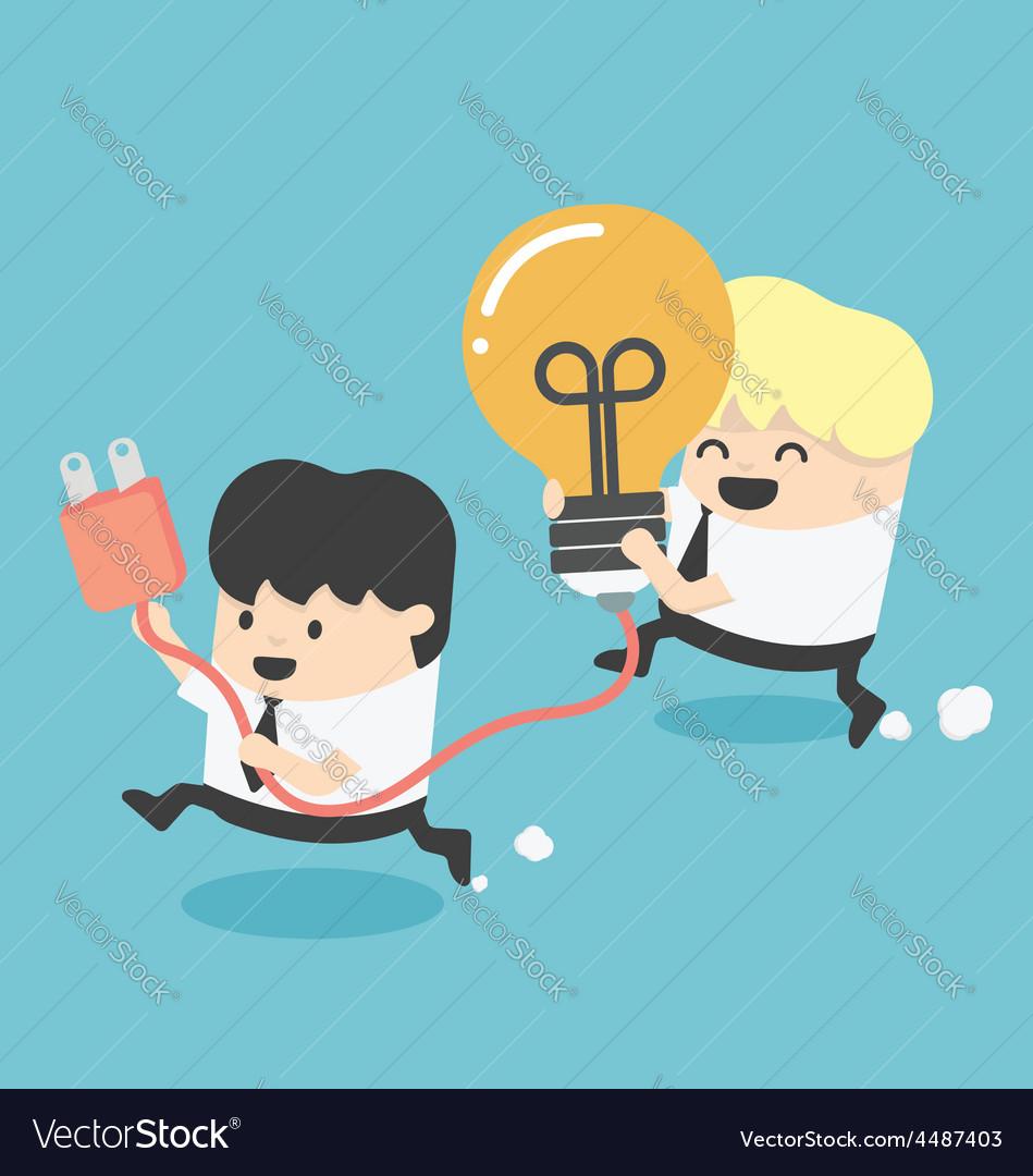 Teamwork support vector | Price: 1 Credit (USD $1)