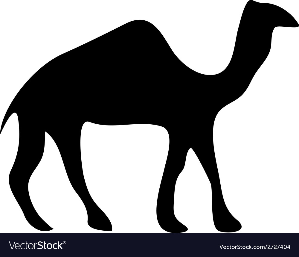 Camel icon vector | Price: 1 Credit (USD $1)