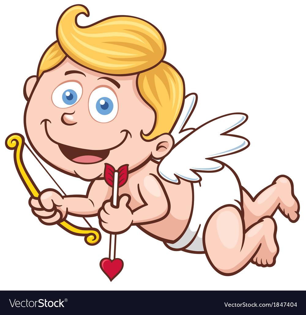Cupid vector | Price: 1 Credit (USD $1)
