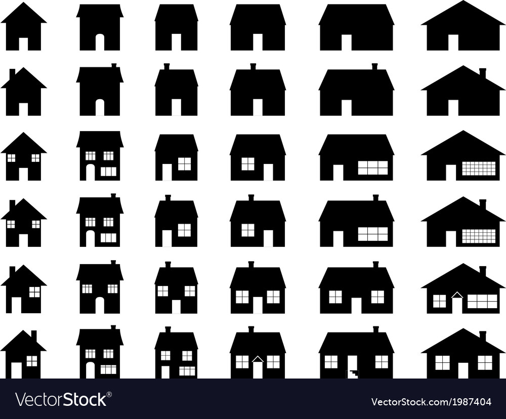 House set vector | Price: 1 Credit (USD $1)
