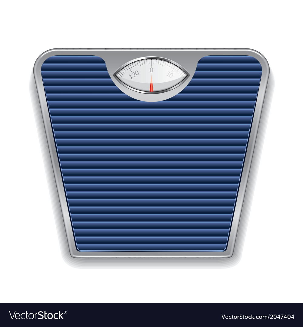 Object weight scales vector | Price: 1 Credit (USD $1)
