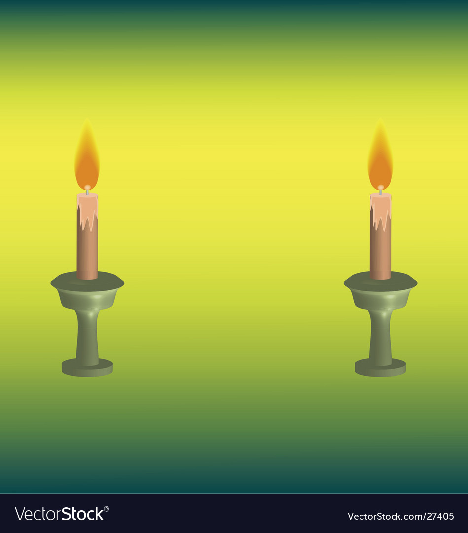Candle haze vector | Price: 1 Credit (USD $1)