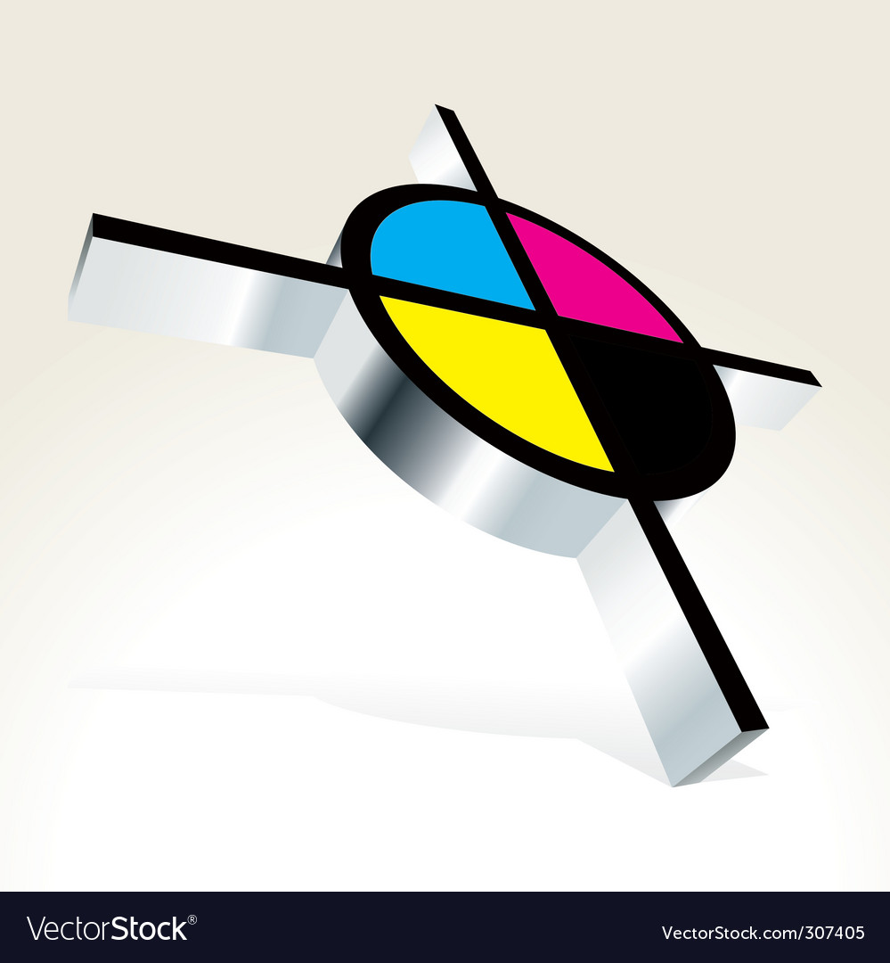 Cmyk printing vector | Price: 1 Credit (USD $1)