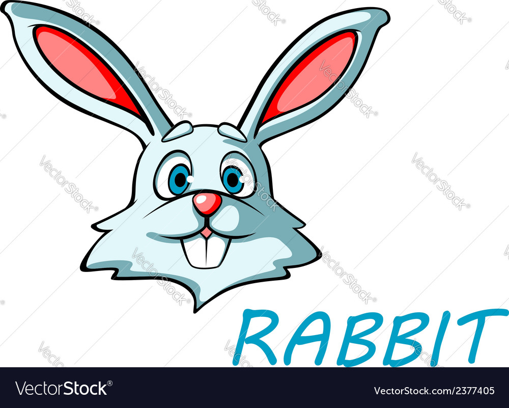 Funny cartoon rabbit or hare vector | Price: 1 Credit (USD $1)
