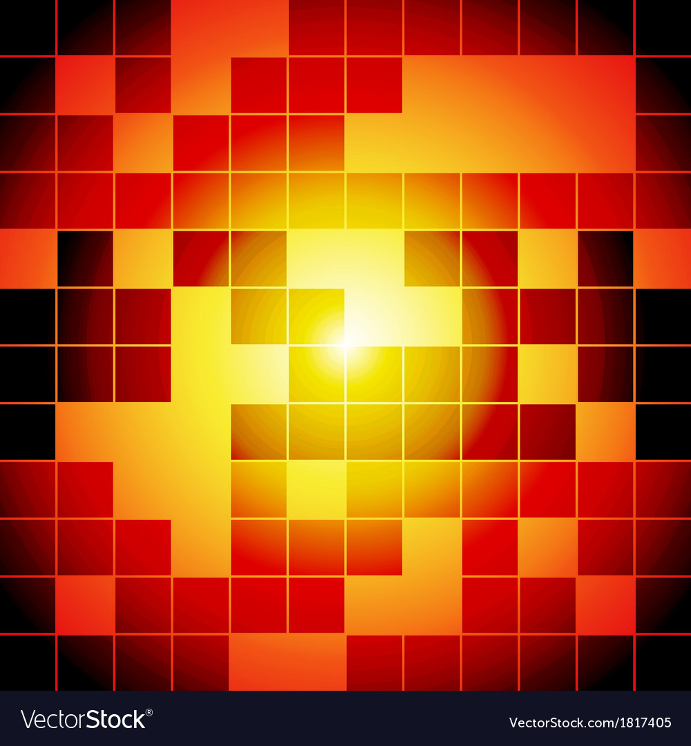 Red and orange squares abstract background vector   Price: 1 Credit (USD $1)