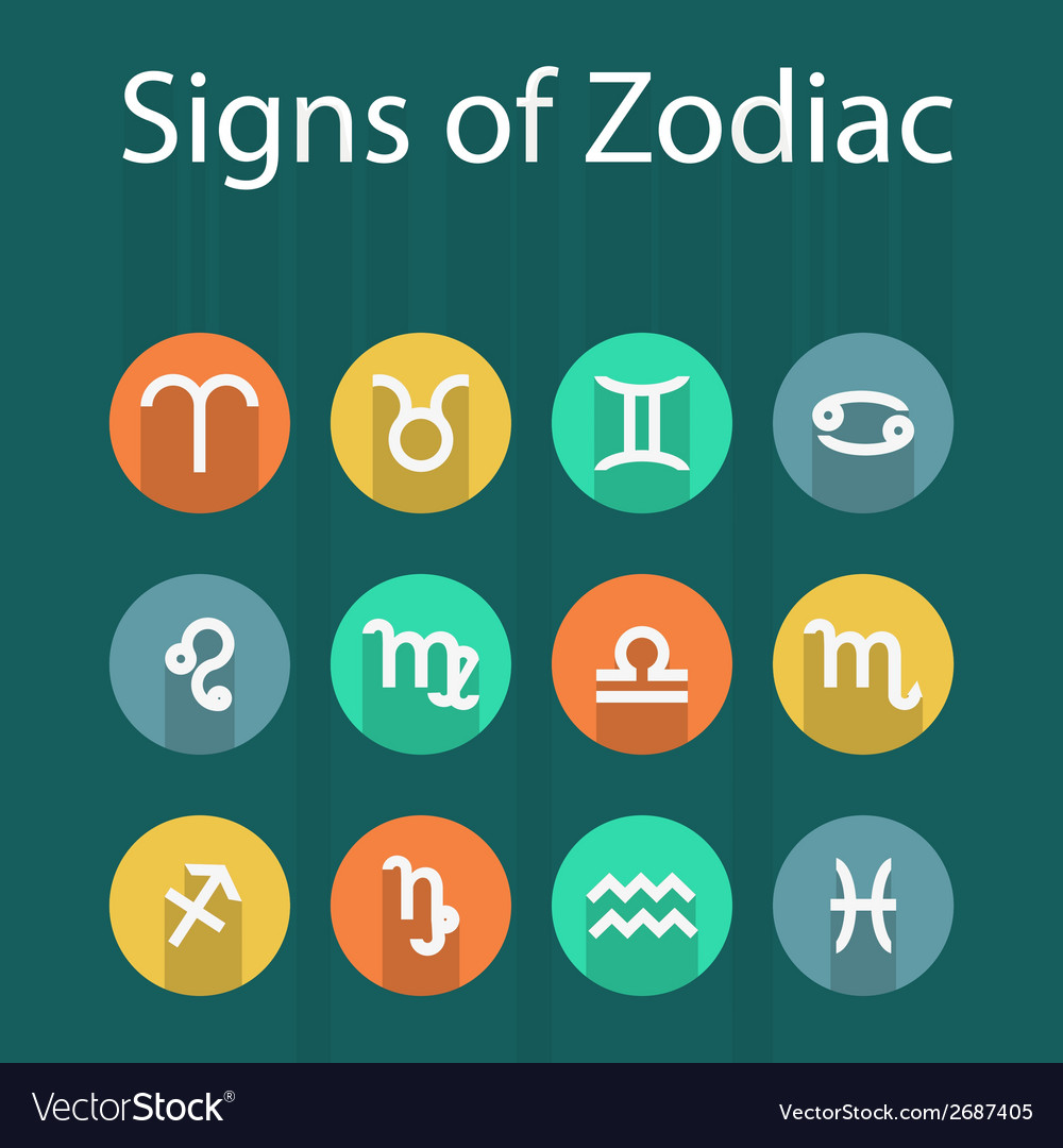 Zodiac vector | Price: 1 Credit (USD $1)