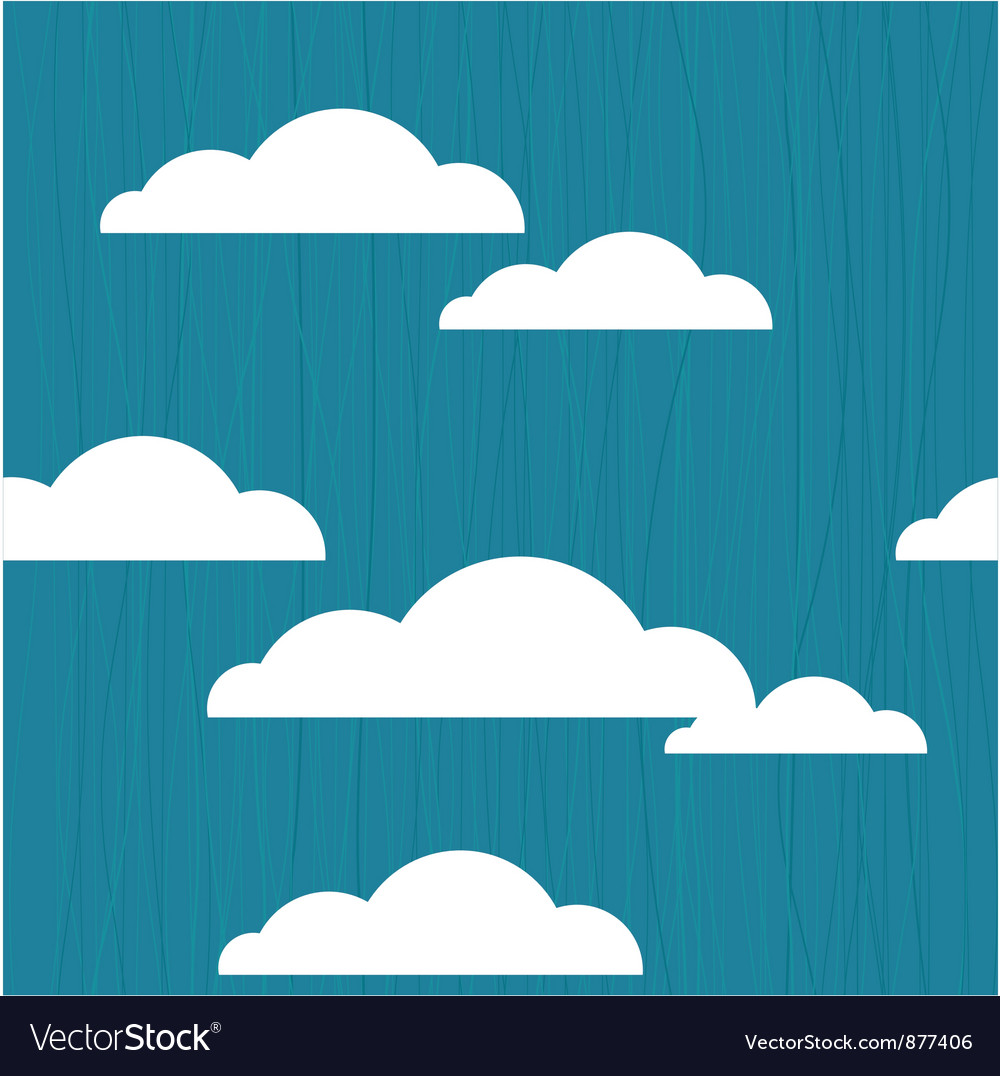 Cloudy vector | Price: 1 Credit (USD $1)