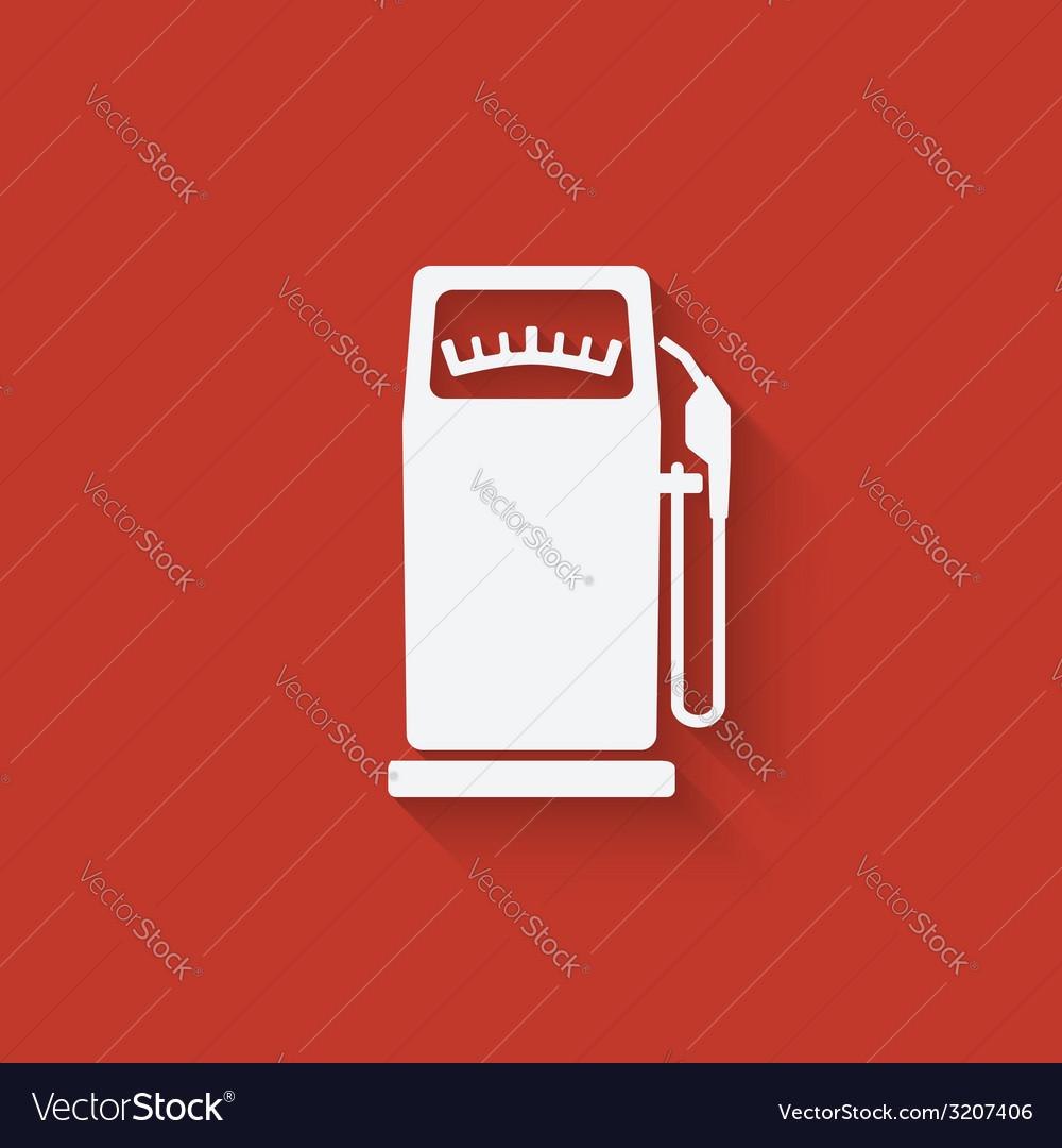 Gasoline pump vector | Price: 1 Credit (USD $1)