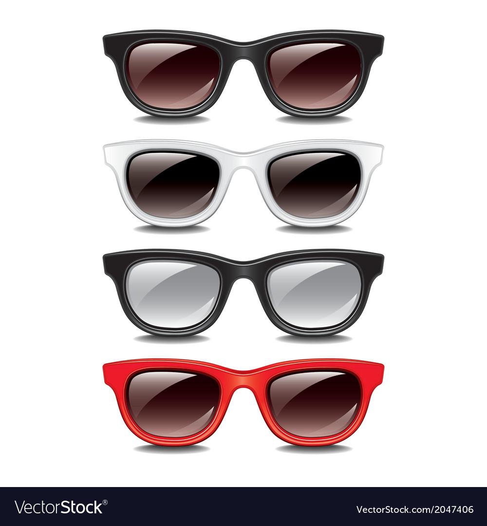 Set glasses vector | Price: 1 Credit (USD $1)