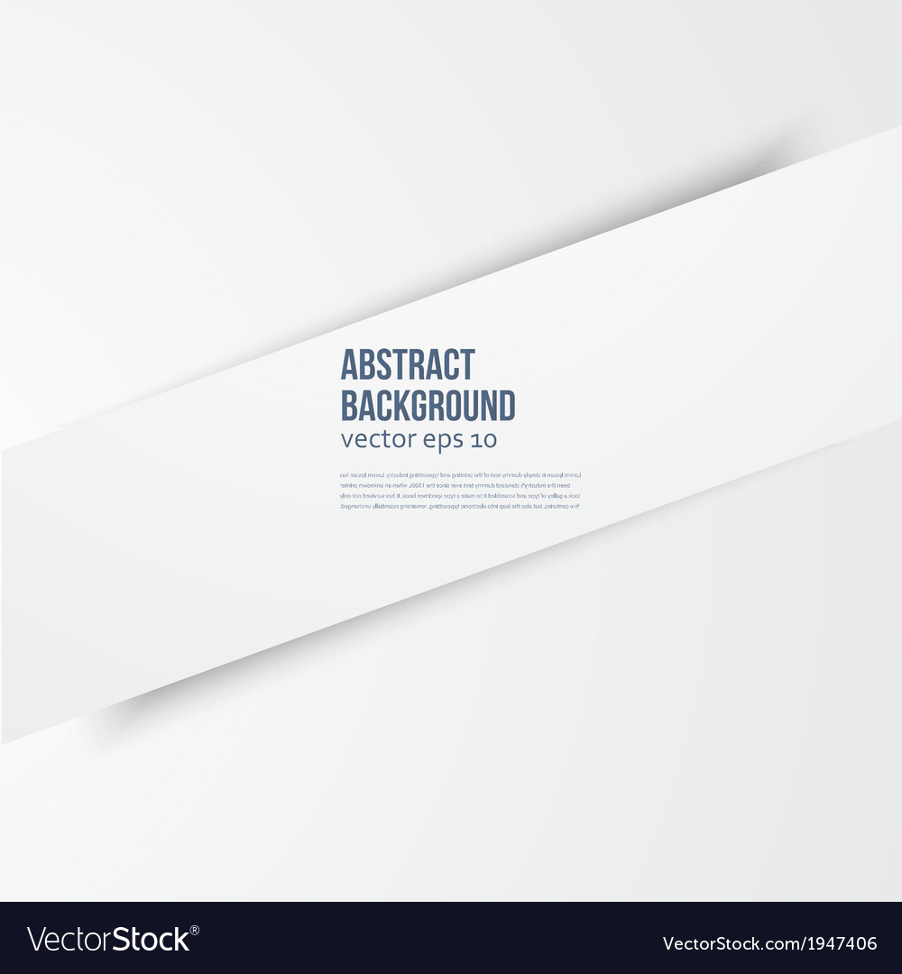 White banner line vector | Price: 1 Credit (USD $1)