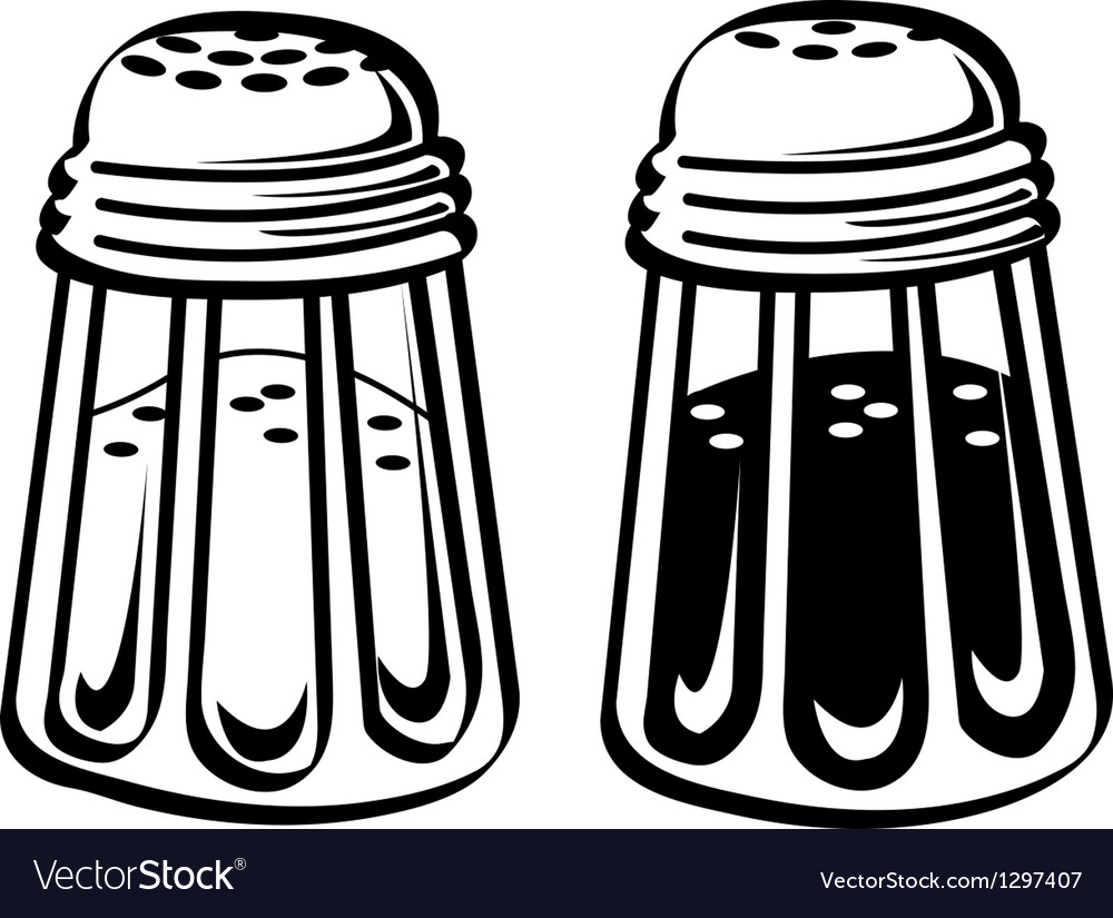 Kitchen shakers vector | Price: 1 Credit (USD $1)