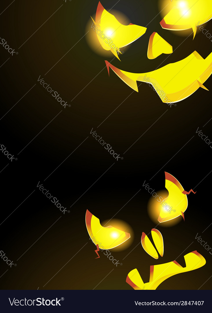 Night monsters jack o lanterns vector | Price: 1 Credit (USD $1)