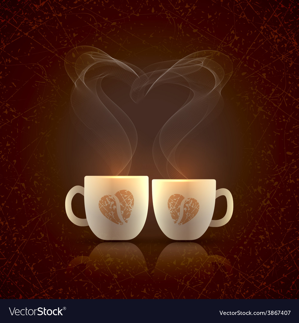 Two cups vector | Price: 1 Credit (USD $1)