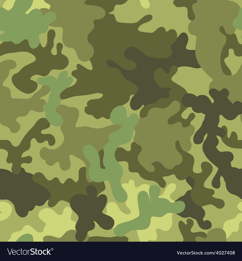 Military army seamless pattern for fabric vector | Price: 1 Credit (USD $1)