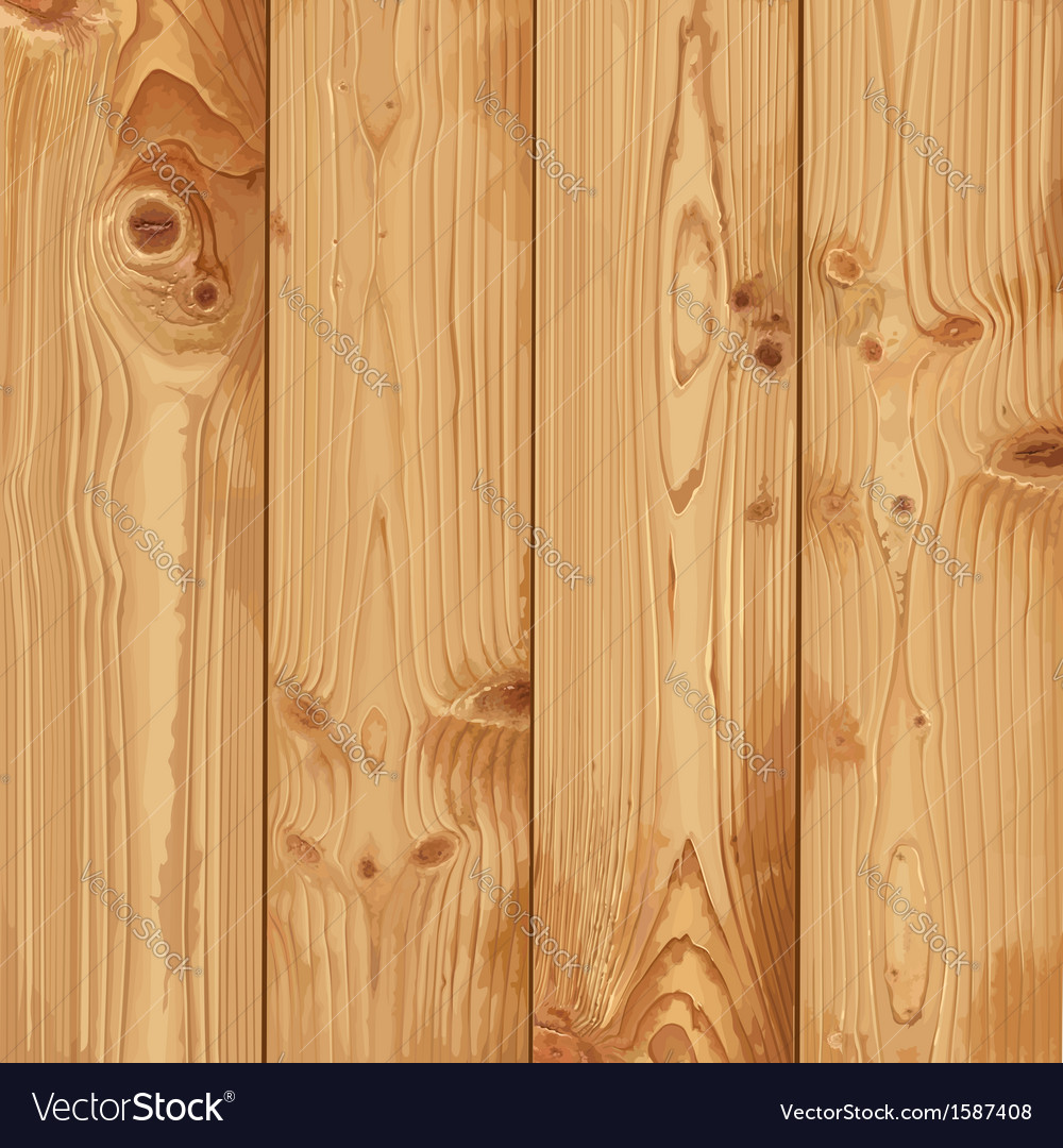 Realistic texture of pale wood vector | Price: 3 Credit (USD $3)