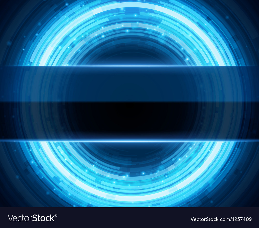 Abstract technology circle digital vector | Price: 1 Credit (USD $1)
