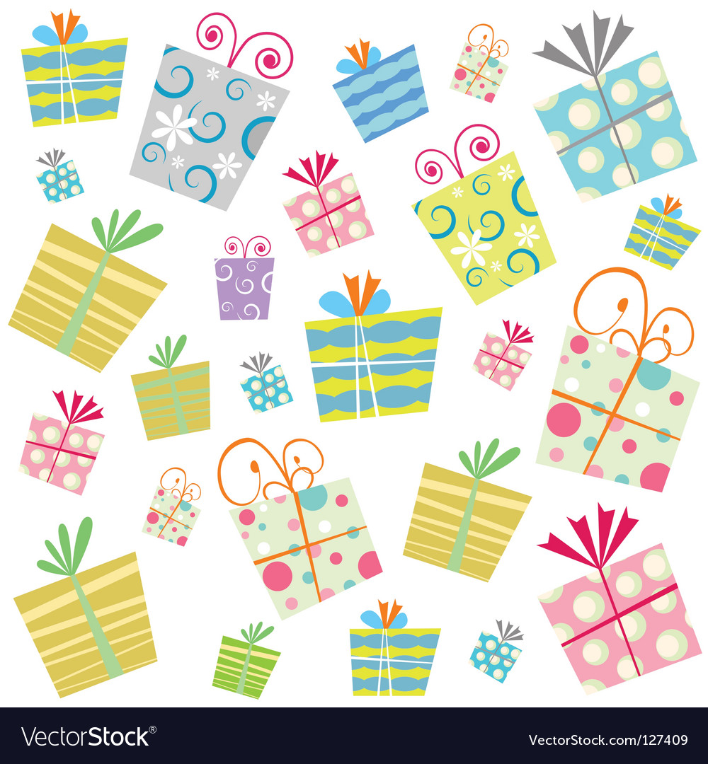 Gift background vector | Price: 1 Credit (USD $1)