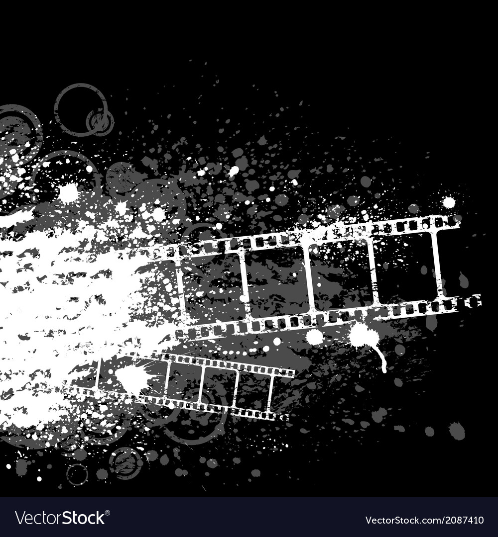 Grunge film white vector | Price: 1 Credit (USD $1)
