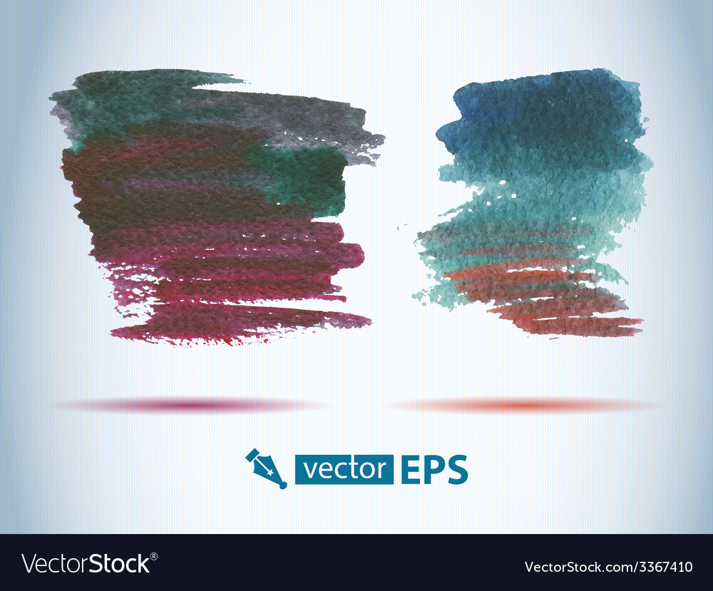 Watercolor decorative wash drop vector | Price: 1 Credit (USD $1)