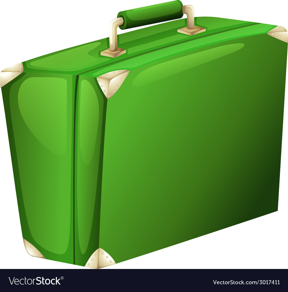 A green case vector | Price: 1 Credit (USD $1)