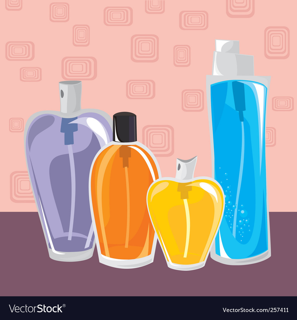 Different perfumes vector | Price: 1 Credit (USD $1)