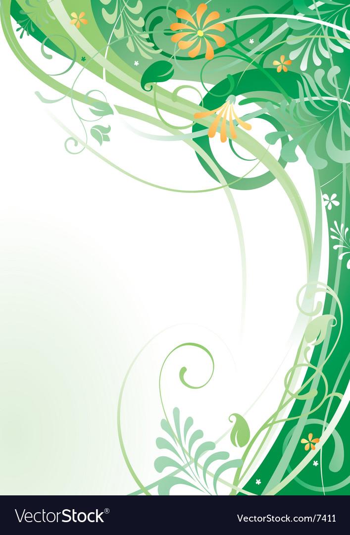 Herbal background vector | Price: 1 Credit (USD $1)