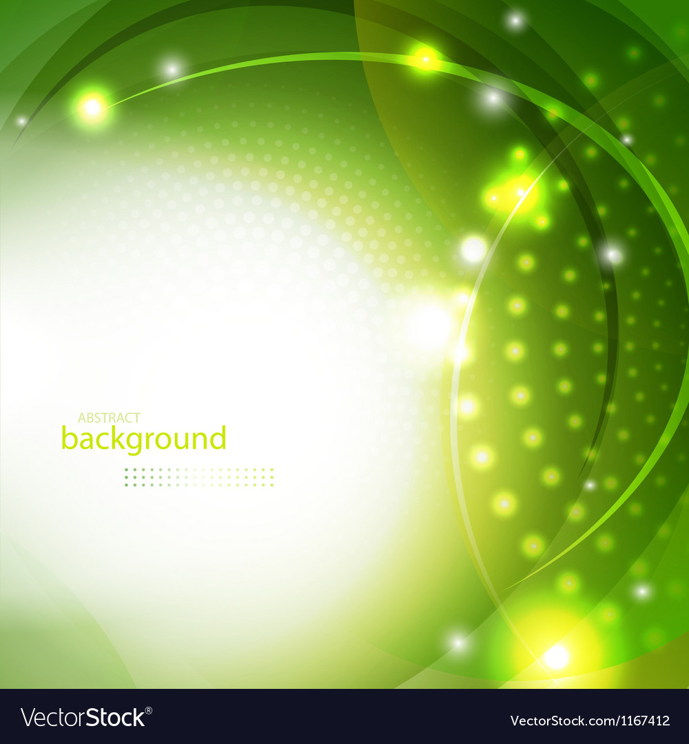 Abstract green shiny background vector | Price: 1 Credit (USD $1)