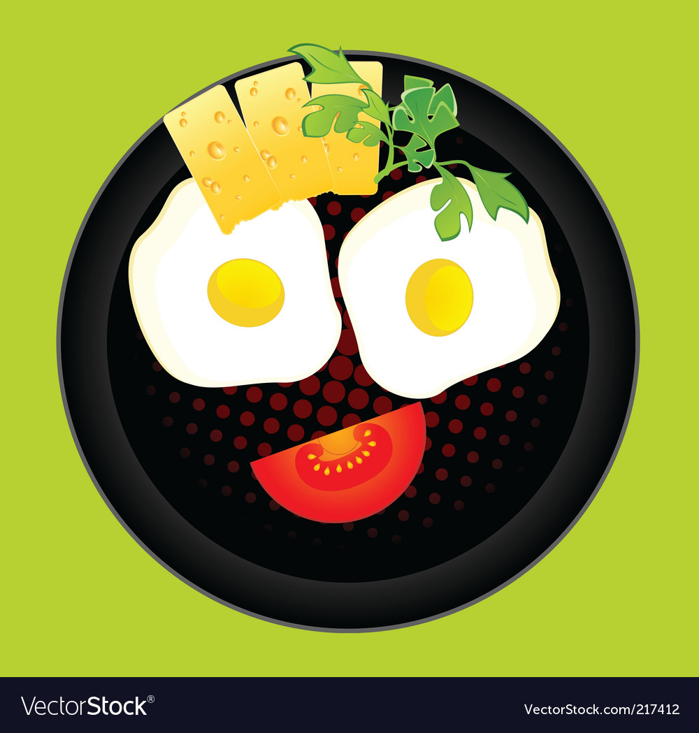 Tasty breakfast vector | Price: 1 Credit (USD $1)