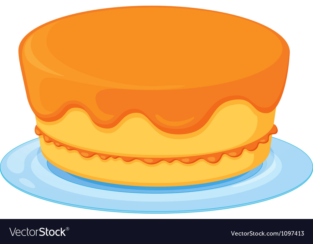 A cake vector | Price: 1 Credit (USD $1)