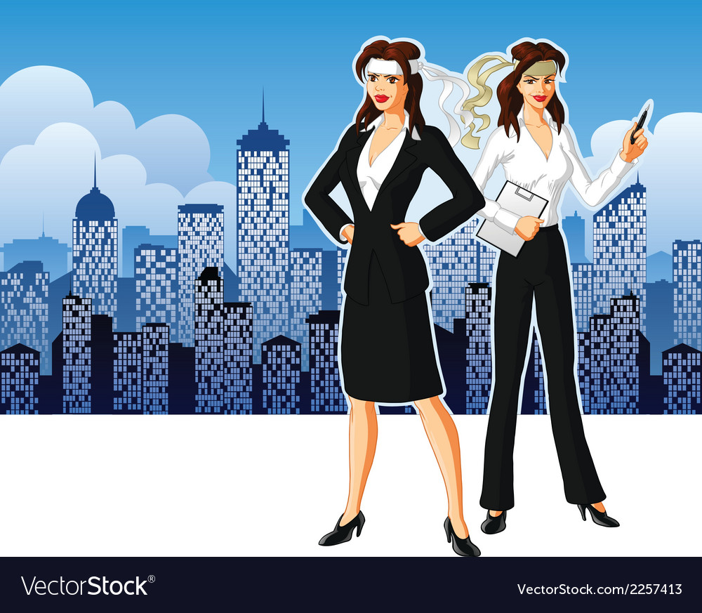Business women vector | Price: 1 Credit (USD $1)