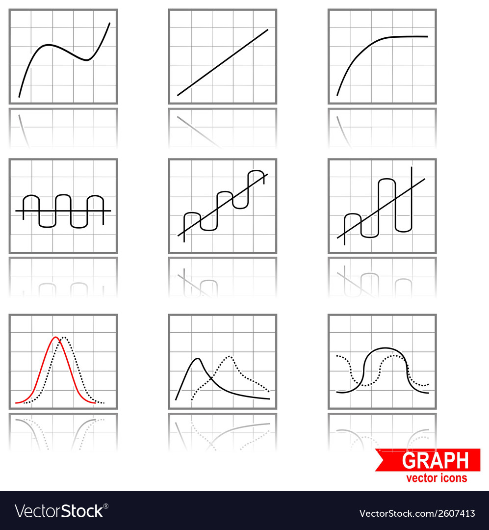 Graphs vector | Price: 1 Credit (USD $1)