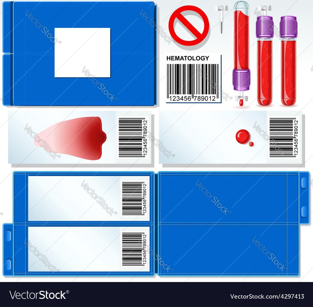 Hematology test complete set vector | Price: 3 Credit (USD $3)