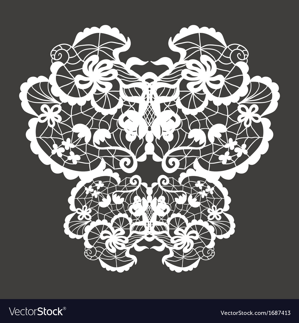 Lace ornament vector | Price: 1 Credit (USD $1)
