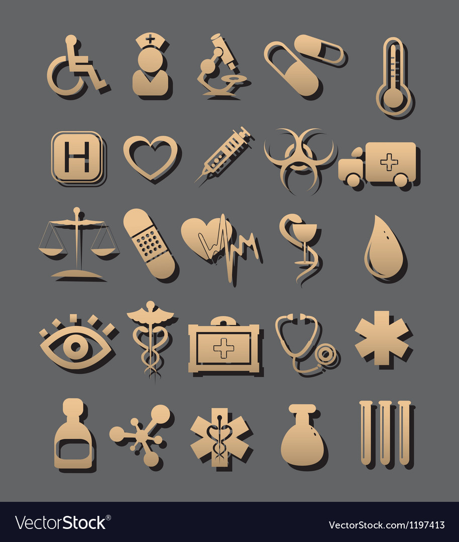 Medic icon vector | Price: 1 Credit (USD $1)