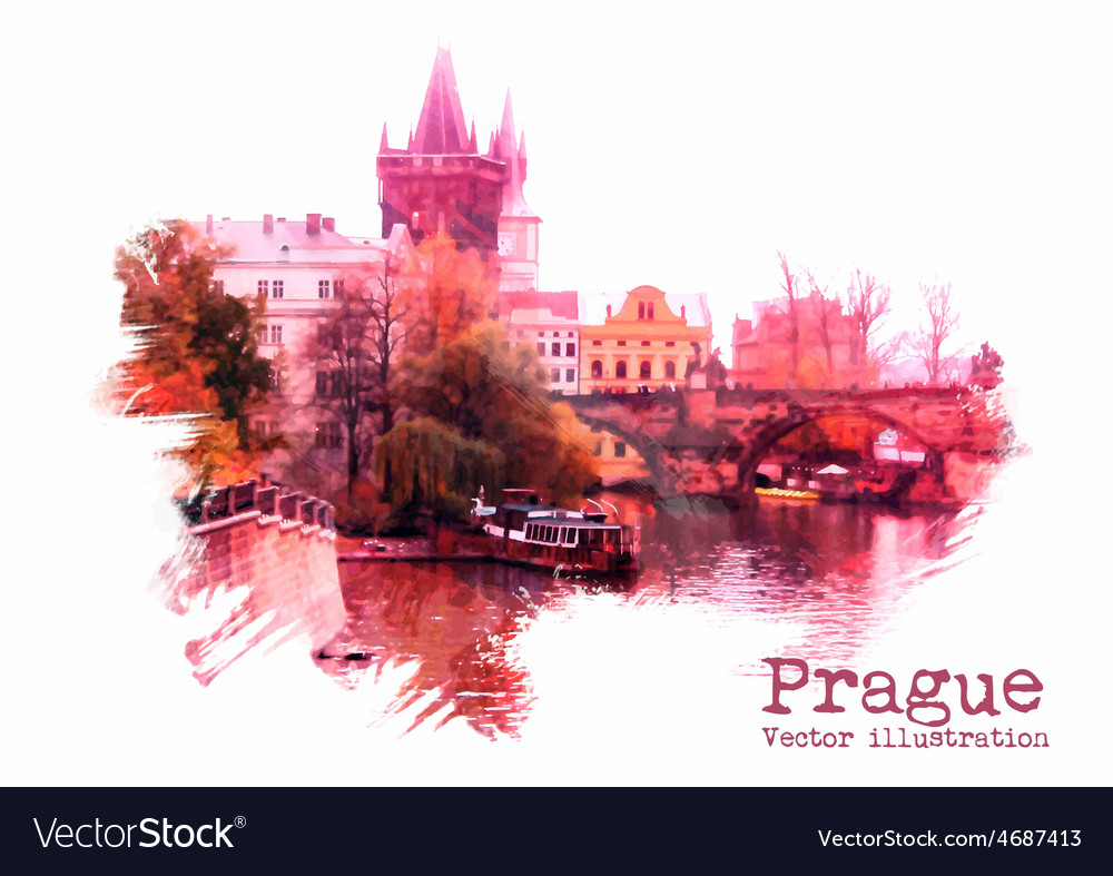 Prague vector | Price: 1 Credit (USD $1)