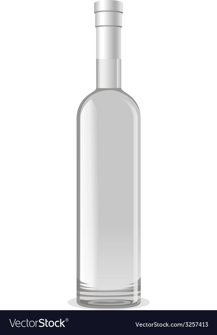 Vodkabottle vector | Price: 1 Credit (USD $1)