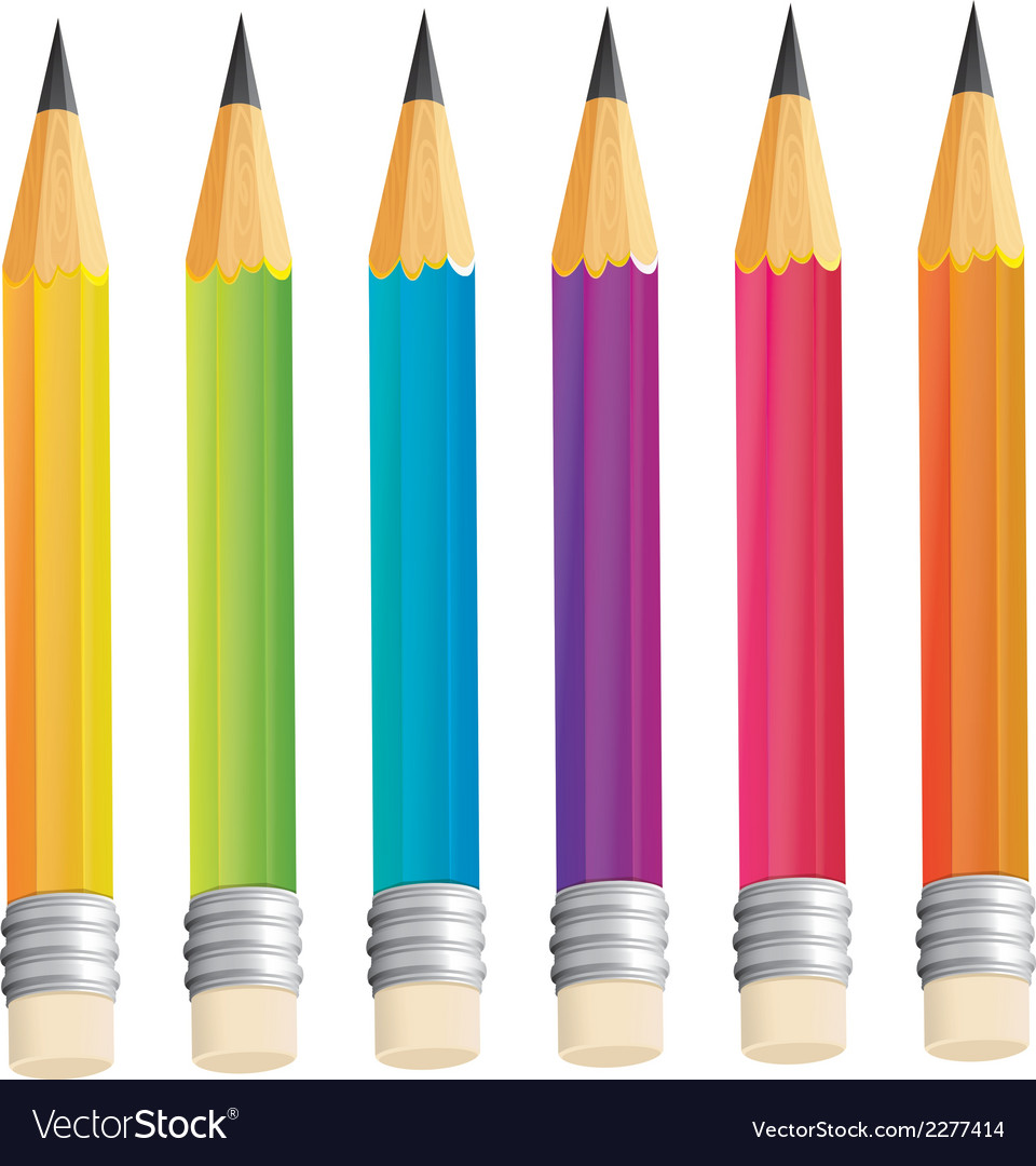 A group of sharp pencils vector | Price: 1 Credit (USD $1)