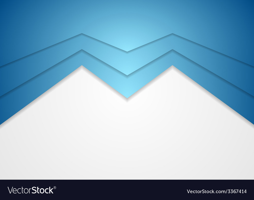 Abstract blue arrow concept background vector | Price: 1 Credit (USD $1)
