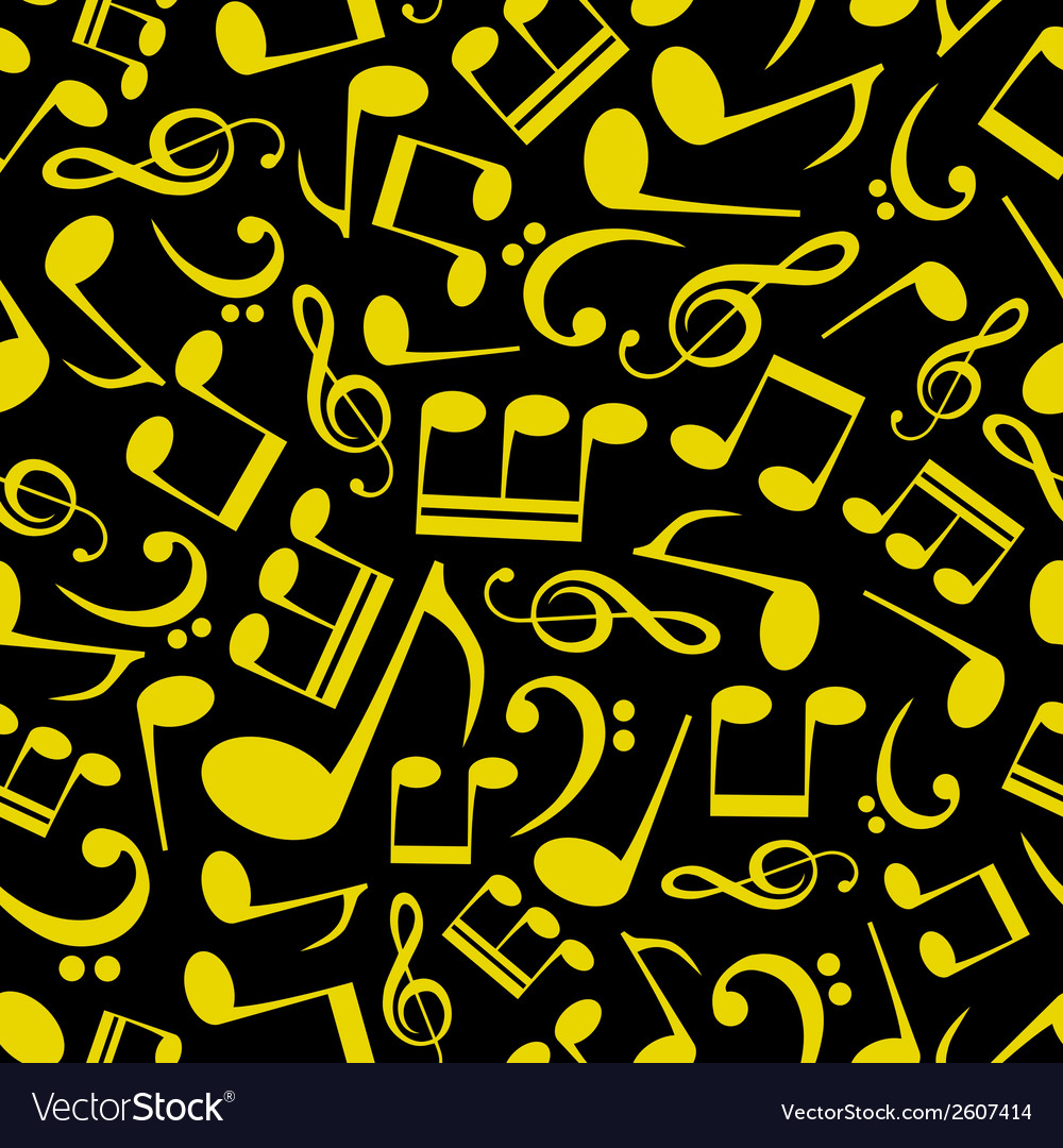 Music note pattern eps10 vector | Price: 1 Credit (USD $1)