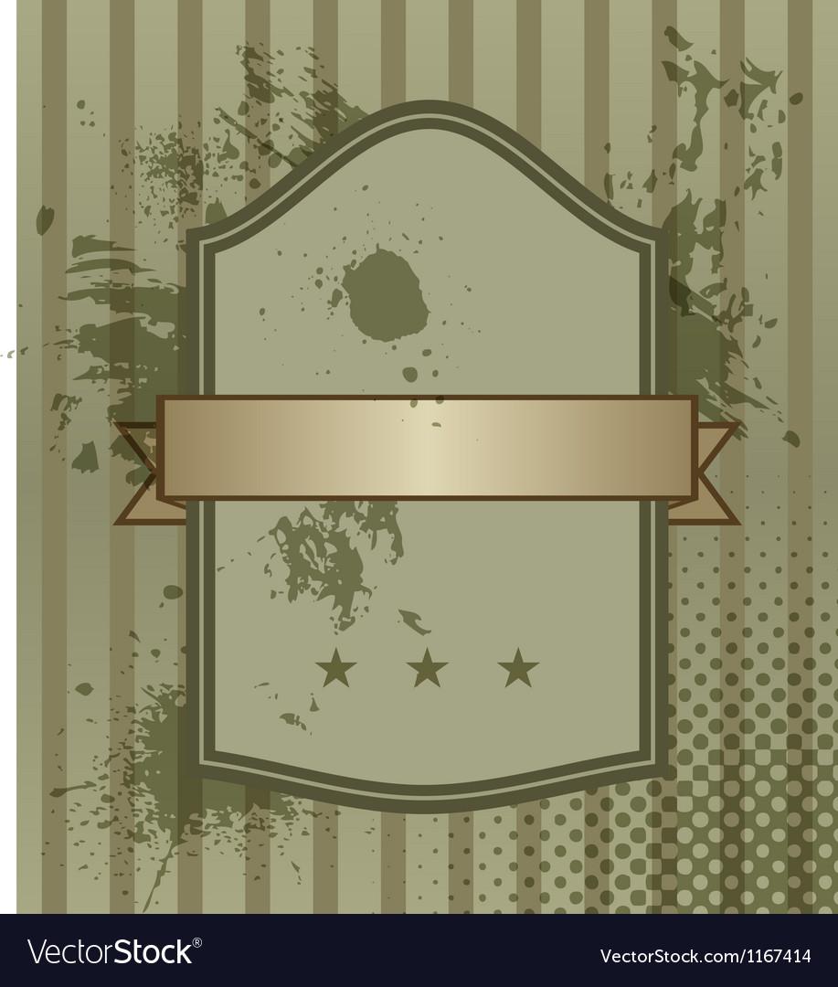 Vintage banner vector | Price: 1 Credit (USD $1)