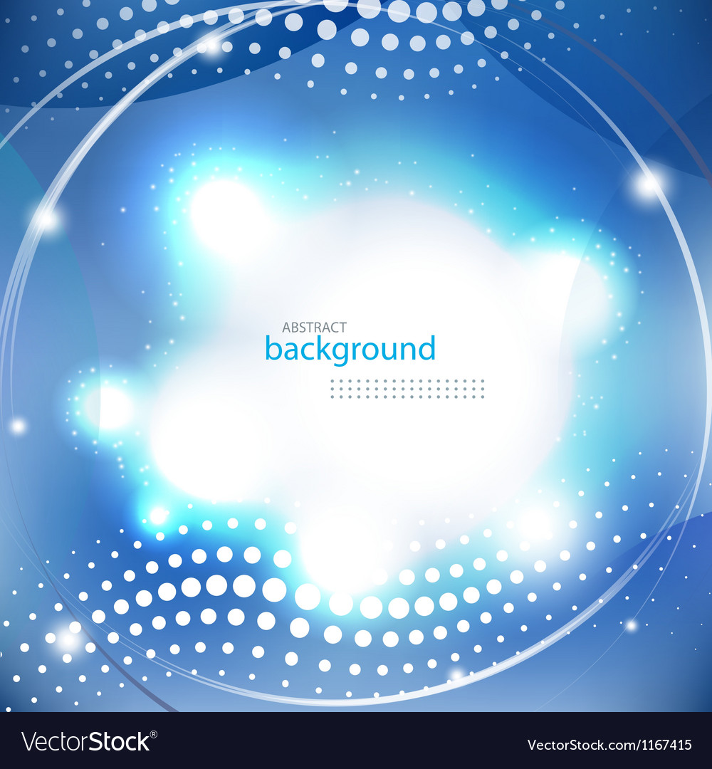 Abstract blue shiny background vector | Price: 1 Credit (USD $1)