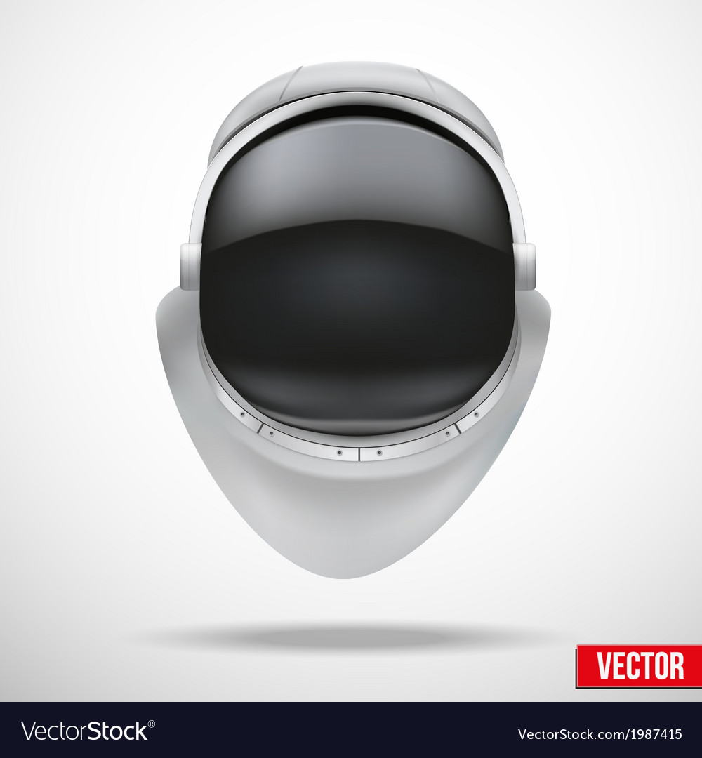 Astronaut helmet with reflection glass vector   Price: 1 Credit (USD $1)