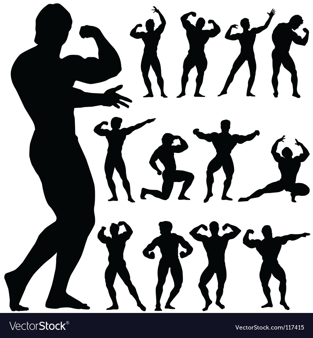 Body building vector | Price: 1 Credit (USD $1)