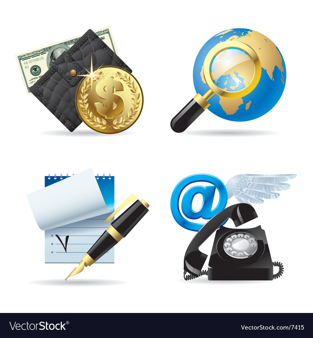 Computer and web icons i vector | Price: 5 Credit (USD $5)