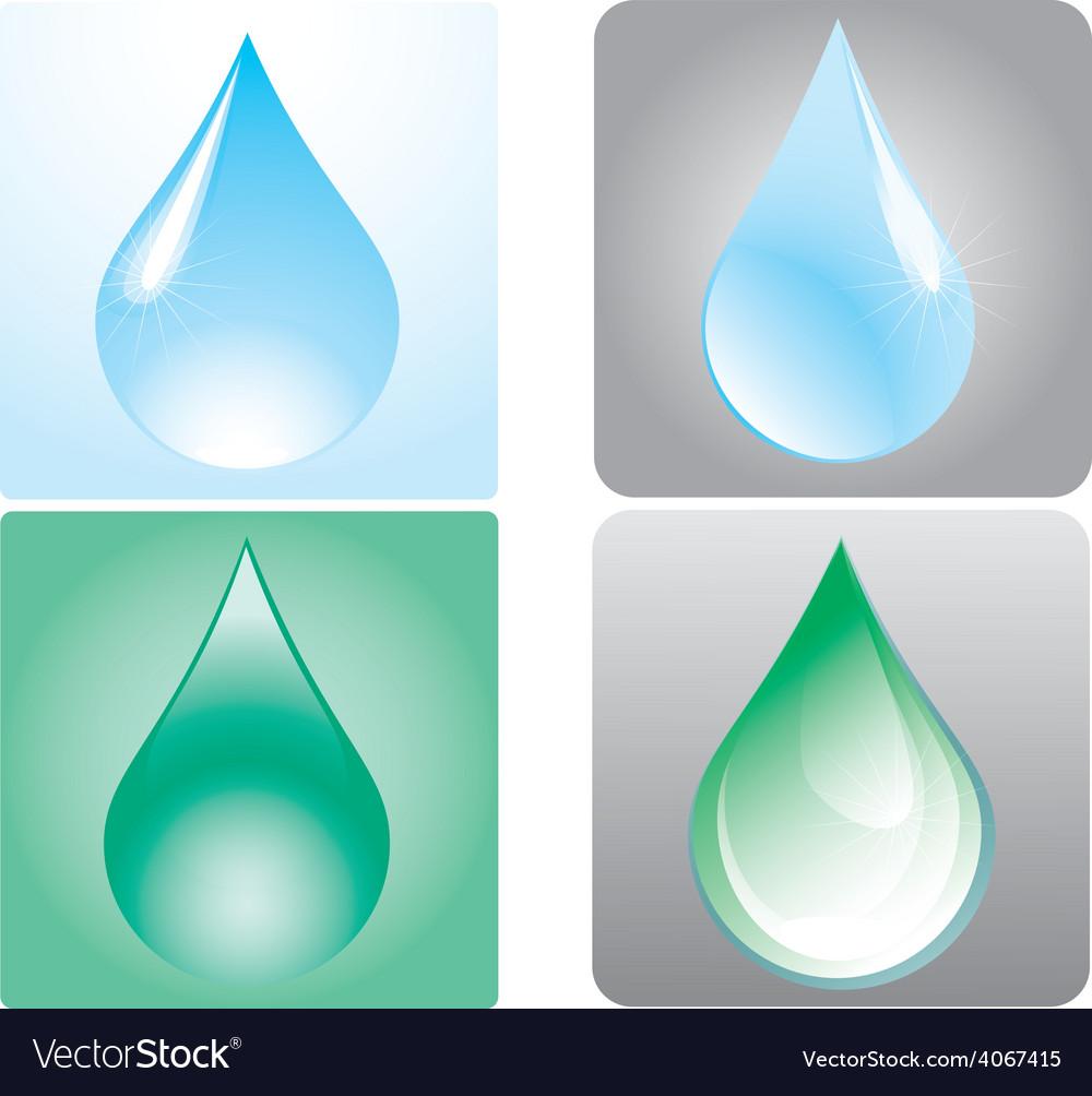 Drops vector | Price: 1 Credit (USD $1)