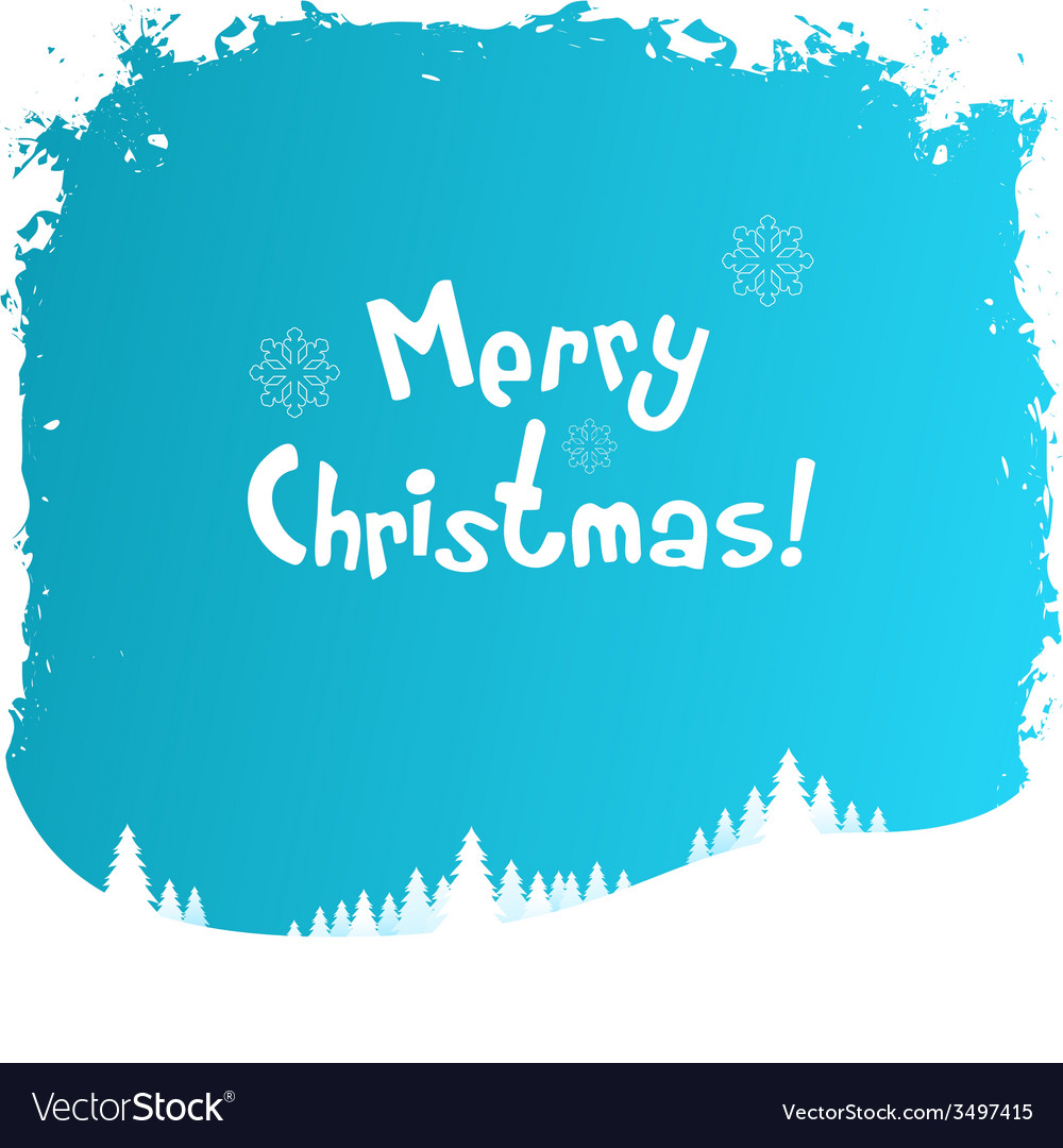 Grungy christmas greeting card vector   Price: 1 Credit (USD $1)
