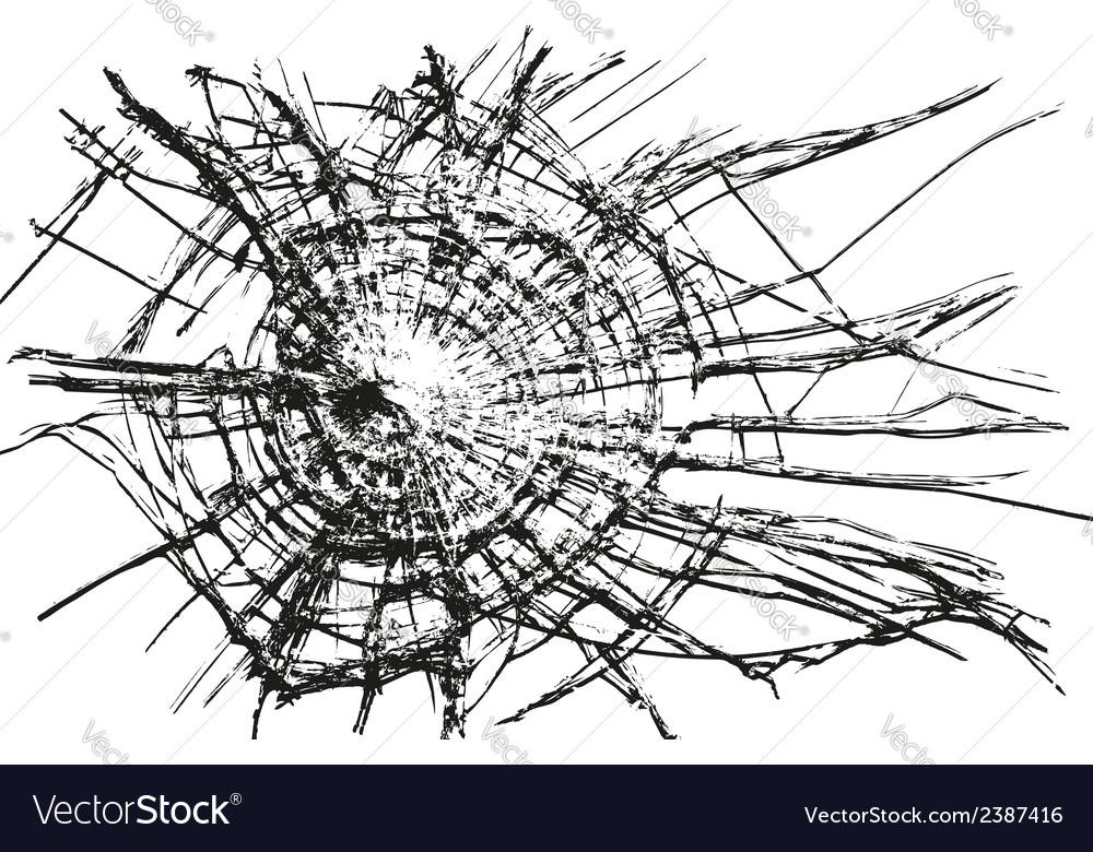 Broken glass vector | Price: 1 Credit (USD $1)